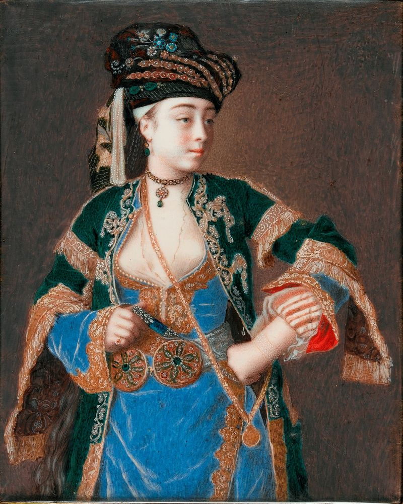 Jean-Etienne Liotard_Laura Tarsi c. 1740