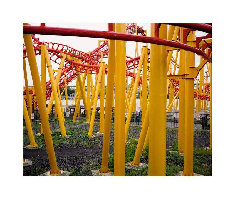 Wim Wenders, Roller Coaster, Montréal, Canada, 2013, Image courtesy the artist and BlainSouthern