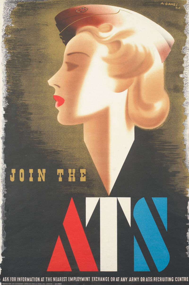 Join the ATS poster 2832 ©IWM