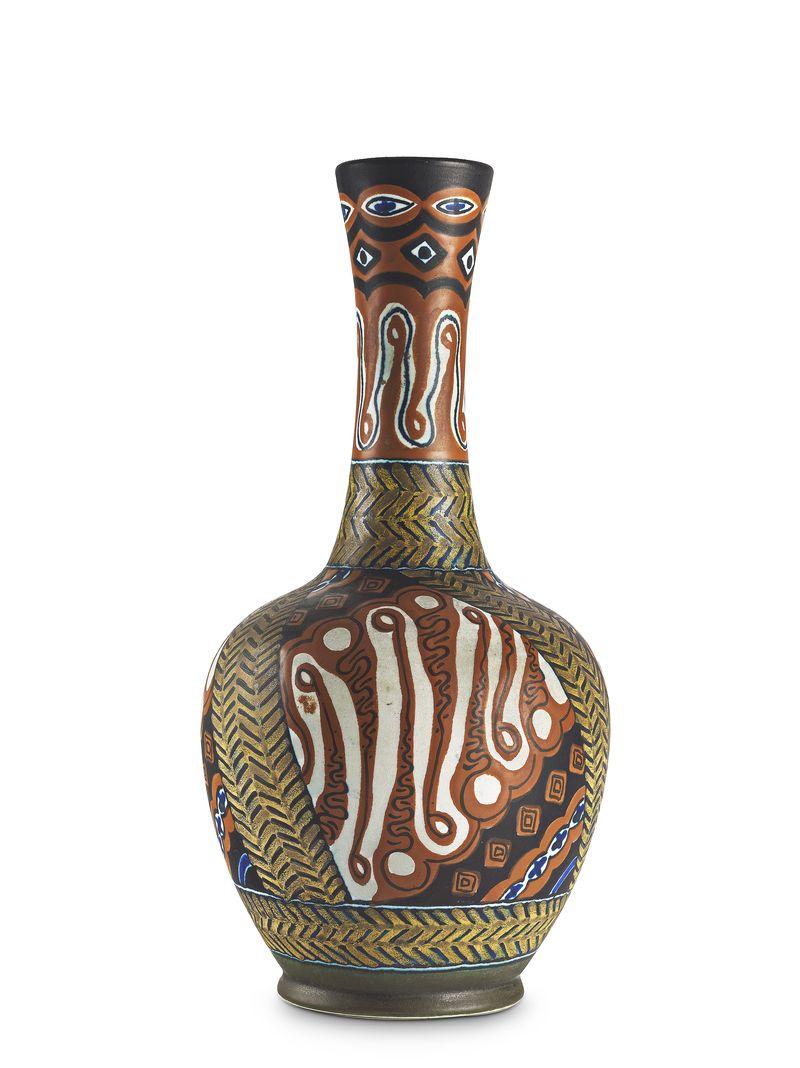 1900-1929 - Vaas met decor Insulinde