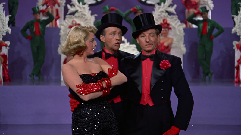 White Christmas Minstrel Show.The Festive Mood On The Big Screen White Christmas 1954