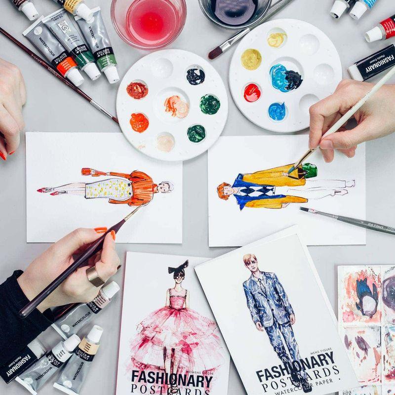 Fashionary_postcards