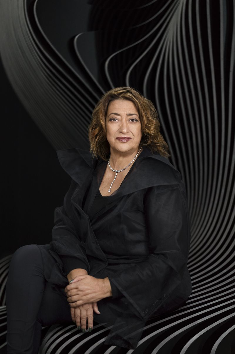 Zaha Hadid_portrait by Mary McCartney