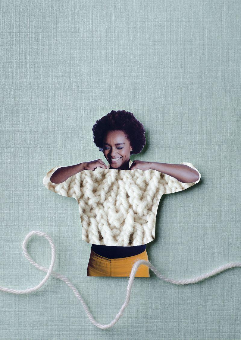 Campagnebeeld Breien! Foto - Heleen Haijtema
