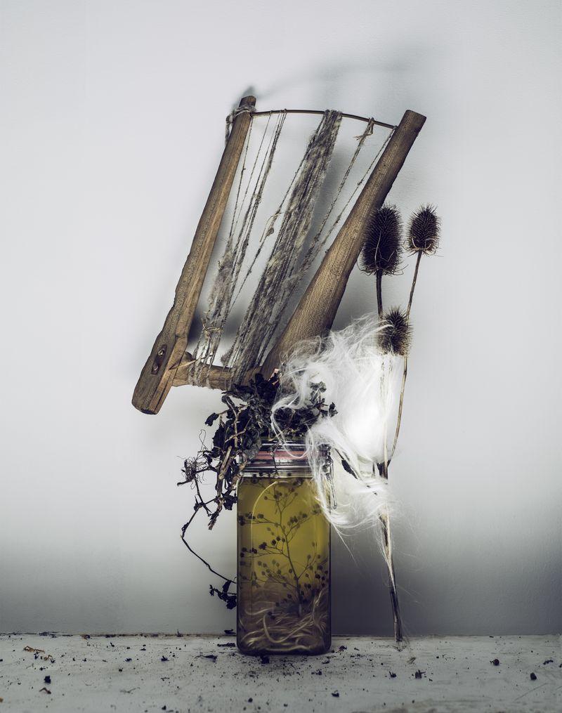 Werkmaterialen Claudy Jongstra. Fotografie Marcel van der Vlugt. (2)