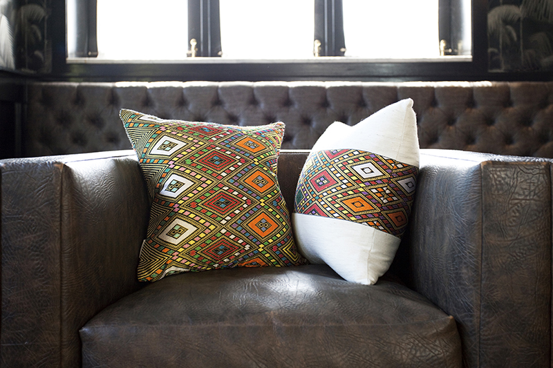 Bole Road Textiles_Heritage Colorful Throw Pillows Zinar