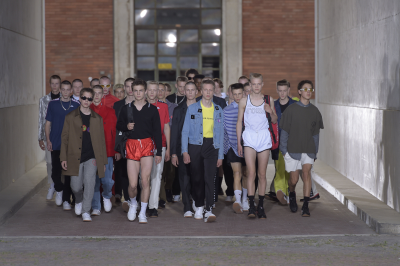 Gosha Rubchinskiy Menswear Guest Designer @ Pitti Uomo 90 - 016
