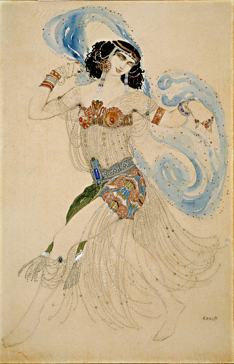 3_Leon_Bakst_Salome._Costume_sketch_for_O.Wildes_play_Salome_1908._The_State_Tretyakov_Gallery