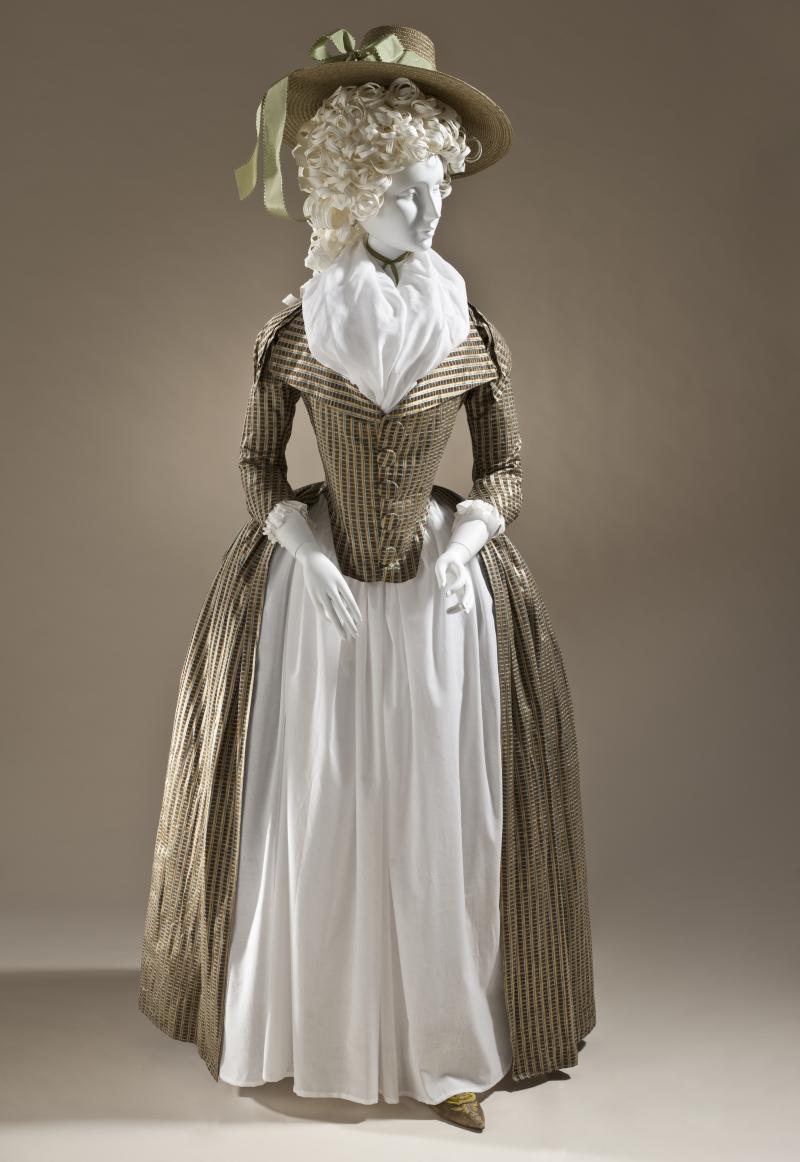 LACMA_Woman's_redingote_c._1790