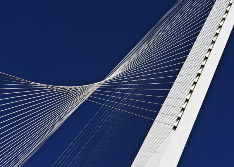 Chords Bridge by Santiago Calatrava