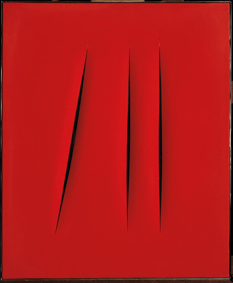 14. Lucio Fontana