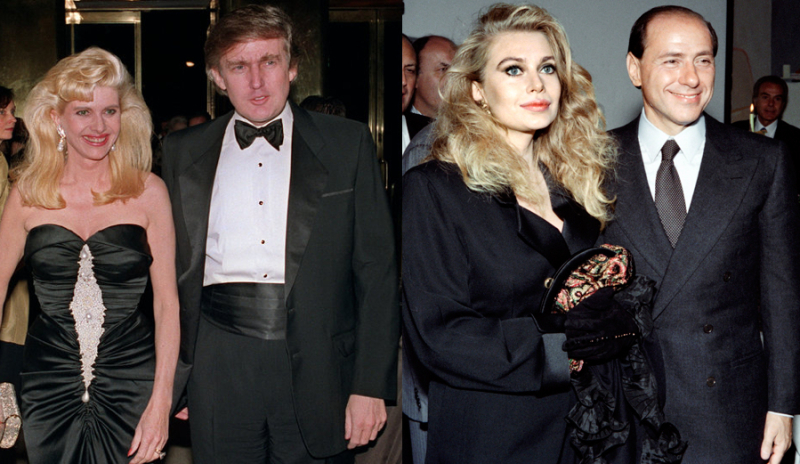 Trump_Ivana_Berlusconi_Veronica
