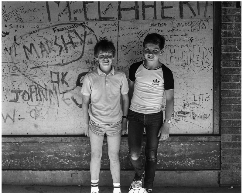 Photograph by Stephen McCoy, From the series Skelmersdale, 1984