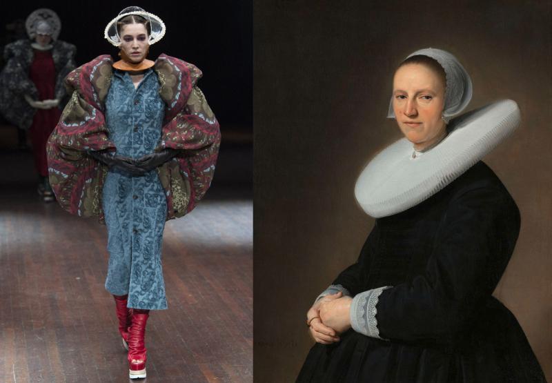 UndercoverAW17_Verspronck  Johannes Cornelisz. Portrait of Adriana Croes