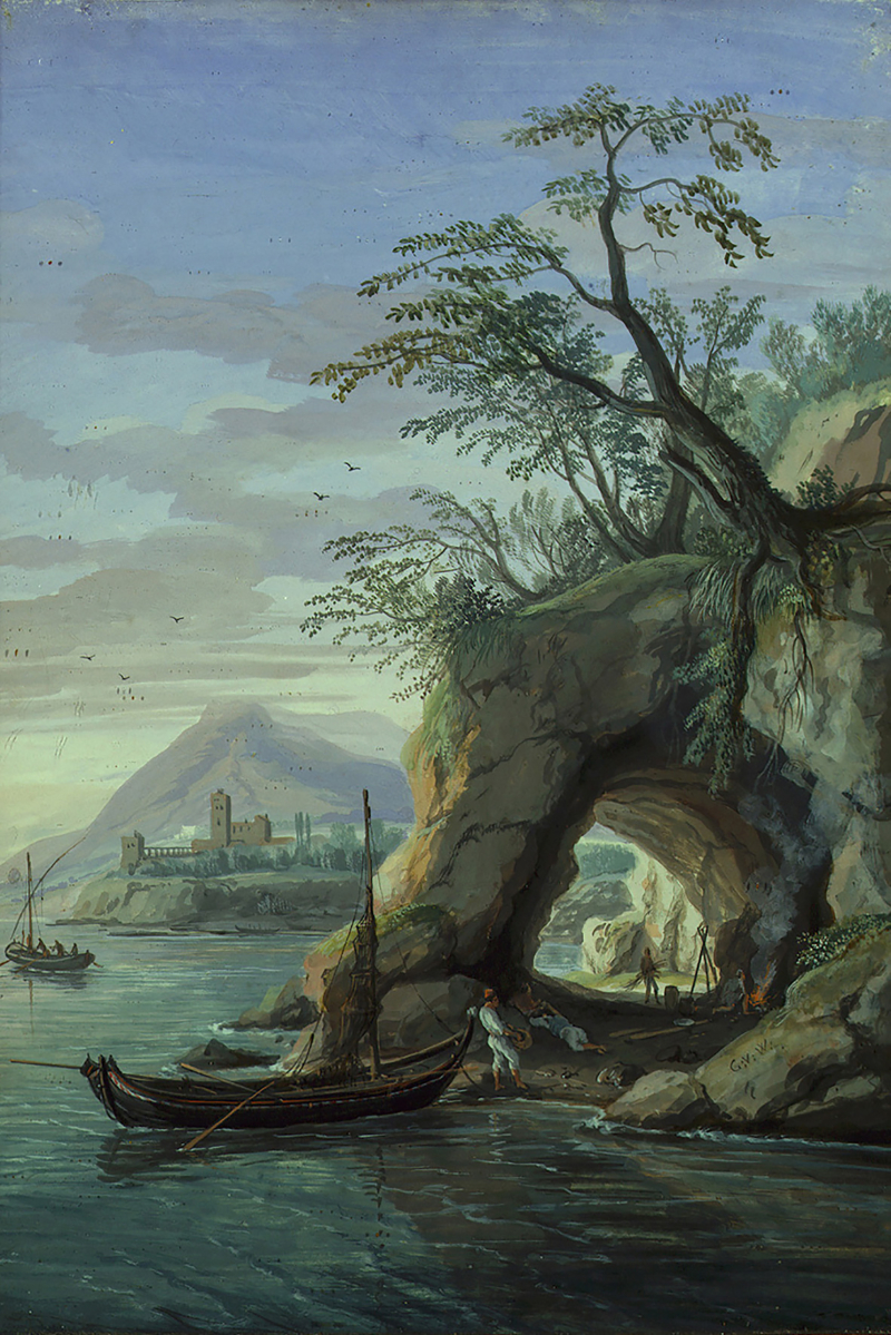 18. Dipinto Van Wittel M.P.Pretorio