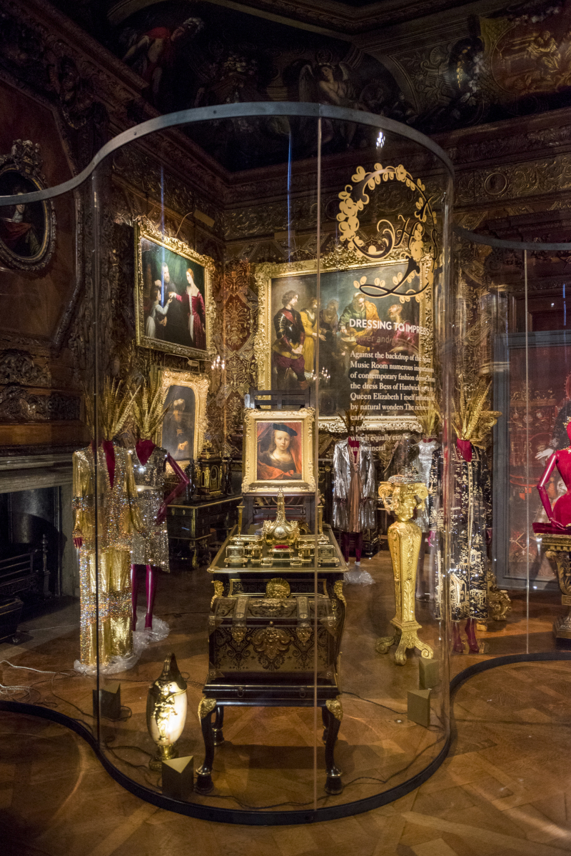 Dressing to Impress in State Music Room at Chatsworth House Style