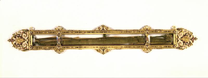 1_Alessandro Cella  Reliquiario della Sacra Cintola  1638  Prato  Duomo