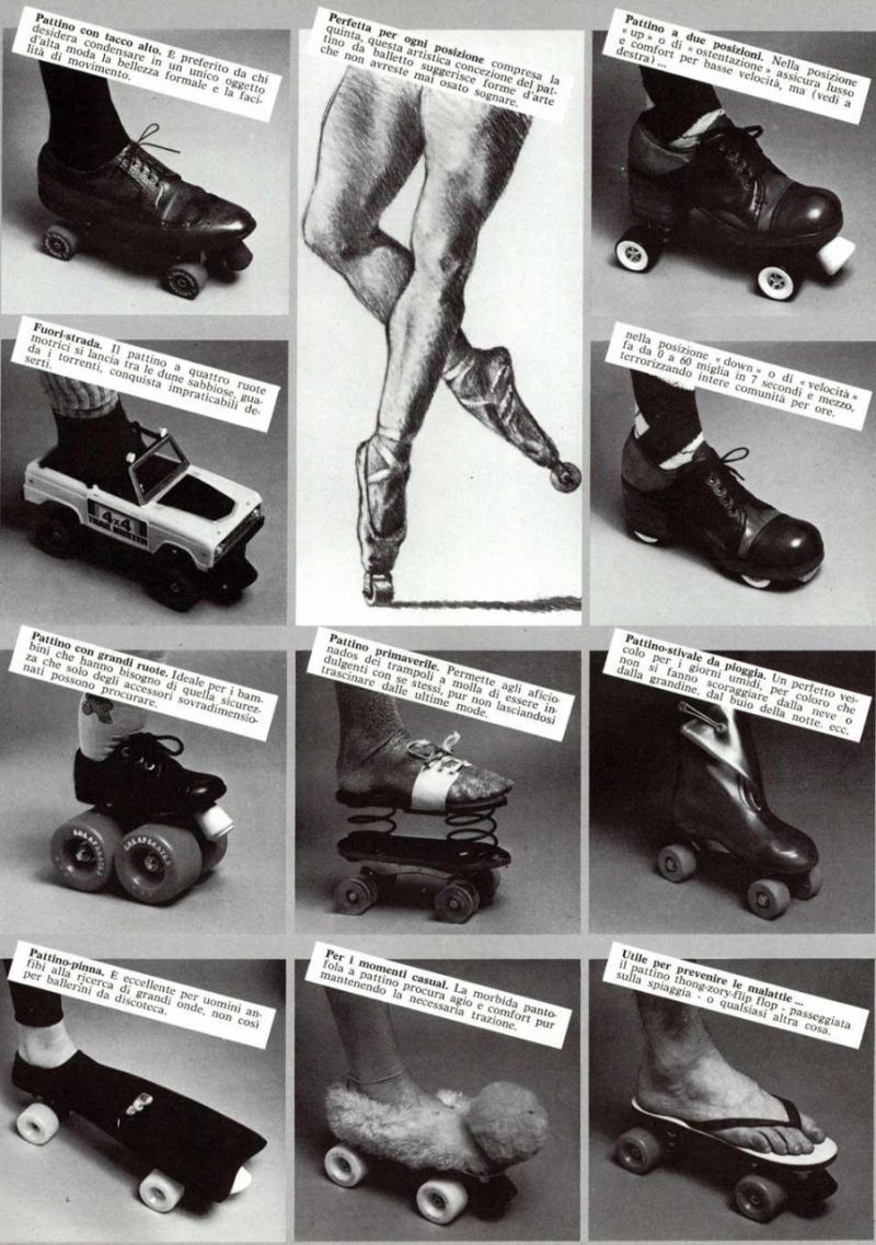 Philip Garner_ series of rollerskates