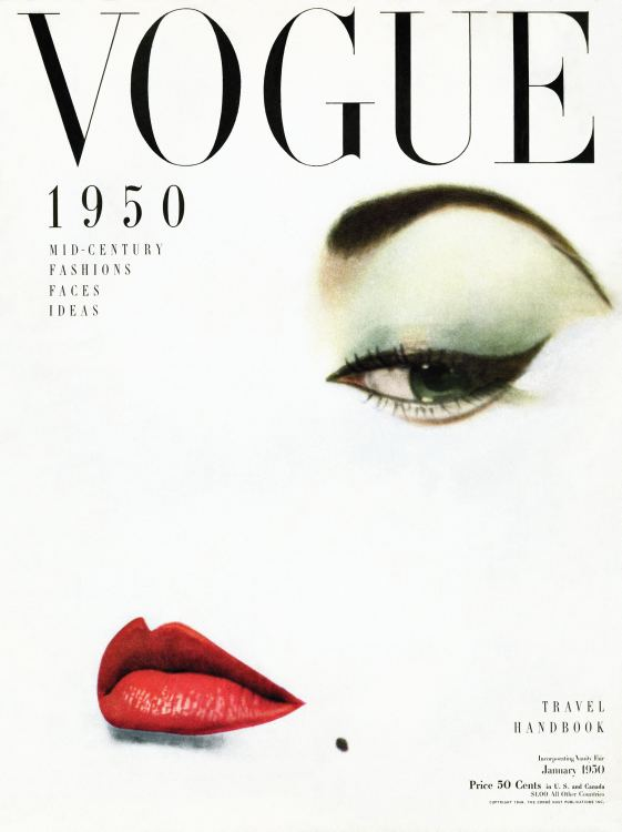 ErwinBlumenfeld_Vogue Cover January 1950