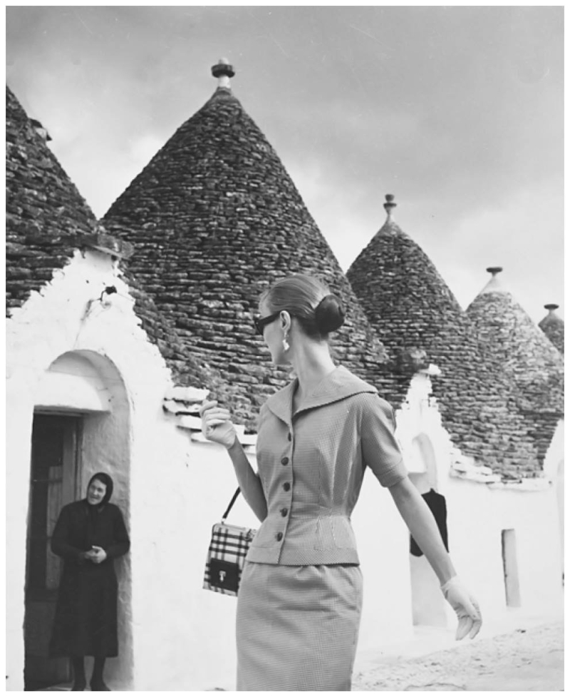 LDW_Evelyn Tripp in Gioia del Colle  Italy 1955
