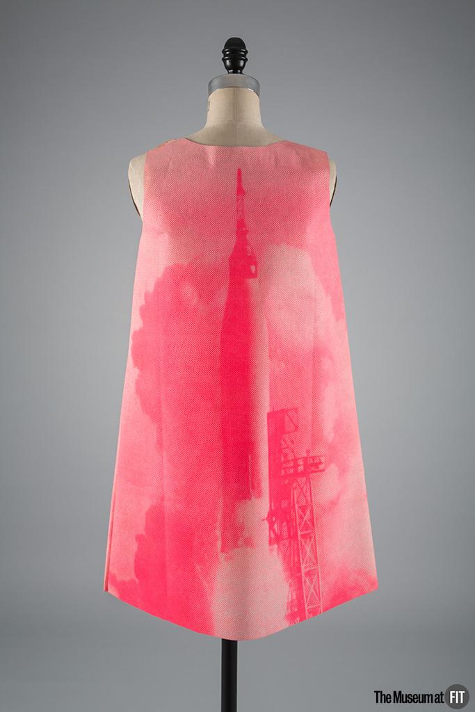 MuseumatFIT_Harry Gordon for Poster Dress paper dress_1968