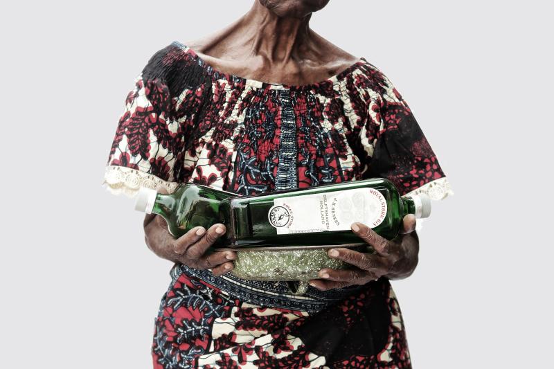 Ishola Akpo  Lessentiel est invisible pour les yeux  2014  Print on Baryta paper  60 x 90 cm  courtesy the artist (1)