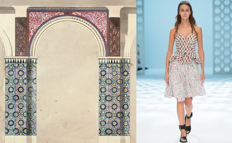 Chalayan_SS15_OwenJones_Decoration for the Alhambra Court_2