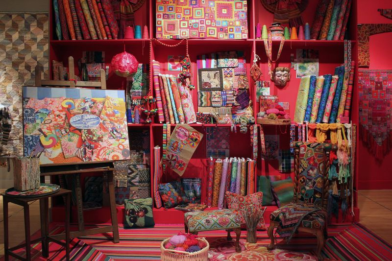AMiB Kaffe Fassett Studio recreation #2