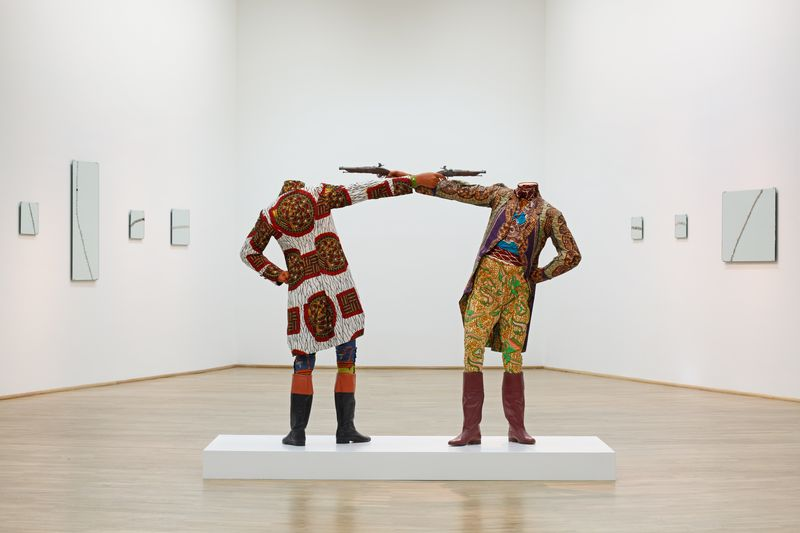 Yinka Shonibare_How To Blow Up Two Heads At Once_2006