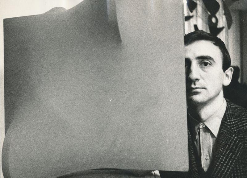 Agostino Bonalumi, 1967, courtesy Archivio Bonalumi and Mazzoleni London