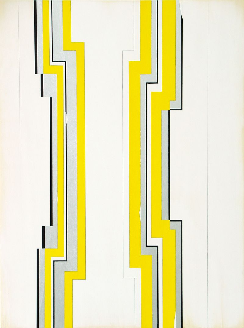JW_Jens Wolf, 14.20, 2014, Acrylic on plywood, 190x140cm, Courtesy the artist and Ronchini Gallery