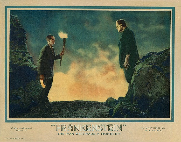 Lot 416 Frankenstein
