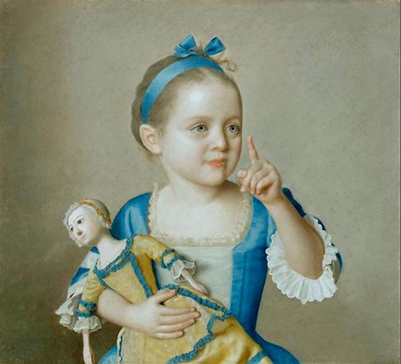 Jean-Etienne Liotard_Marie-Anne Francoise_doll_