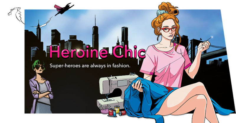 Plight Of A Superhero Costume Designer Heroine Chic On Line Webtoon Irenebrination Notes On Architecture Art Fashion Fashion Law Technology