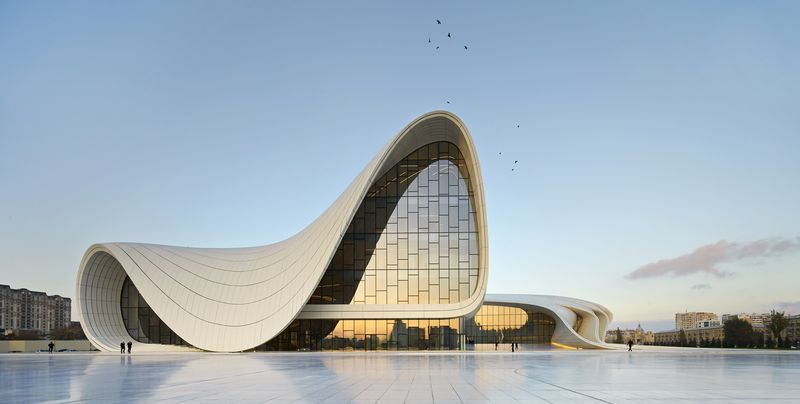 01. Heydar Aliyev Center, Baku_photo by Hufton+Crow