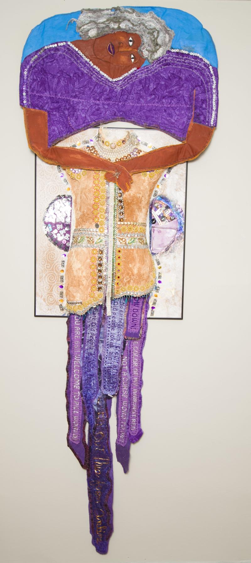 Artist Dindga McCannon by BLamar