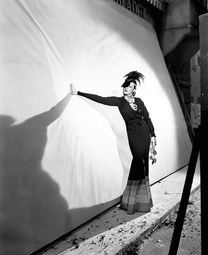 Vogue100_Marlene Dietrich in London by Cecil Beaton, 1936.
