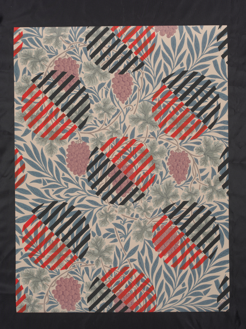 4_Liubov_Popova_Untitled_Textile_Design_on_William_Morris_Wallpaper_for_HM_David_Mabb_2010_c_Victoria_and_Albert_Museum_David_Mabb