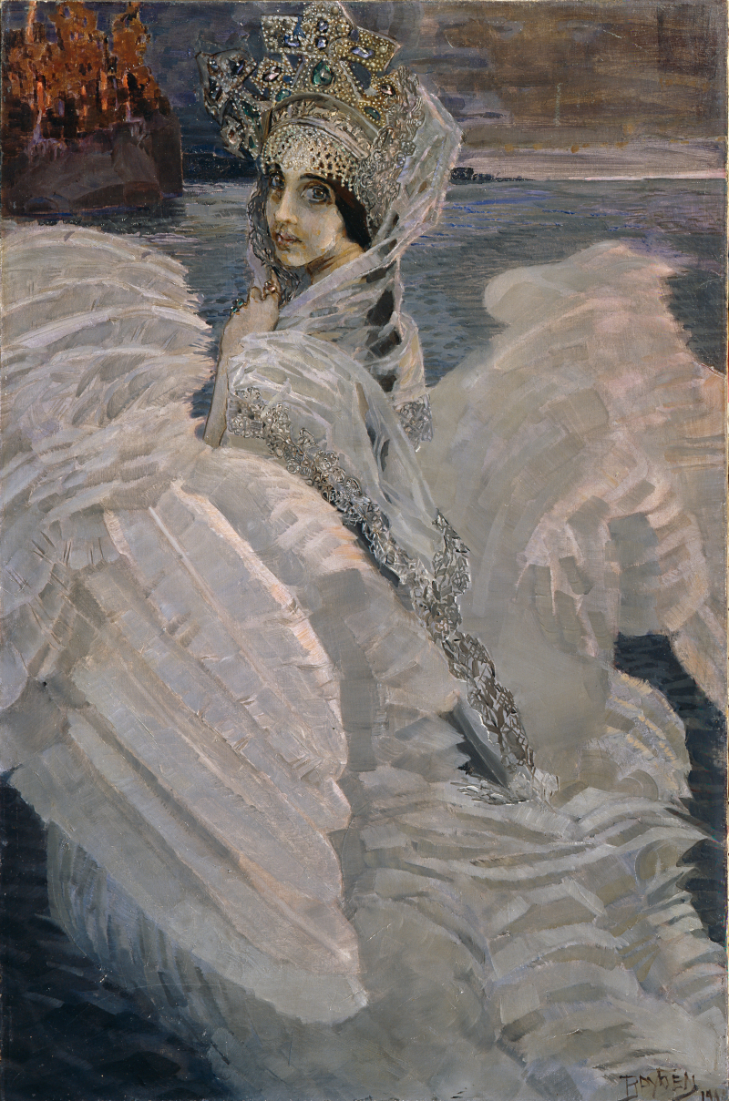 5_Mikhail_Vrubel_The_Swan_Princess_1900._The_State_Tretyakov_Gallery