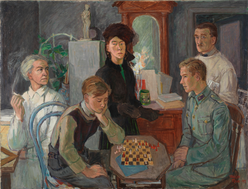 8. Family, 1942