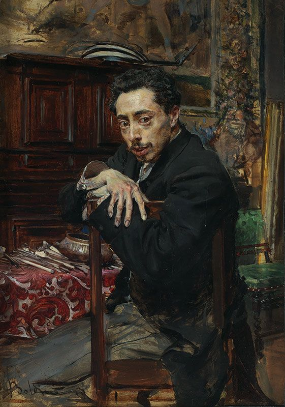 Boldini_Portrait of the Artist Joaquín Araújo y Ruano