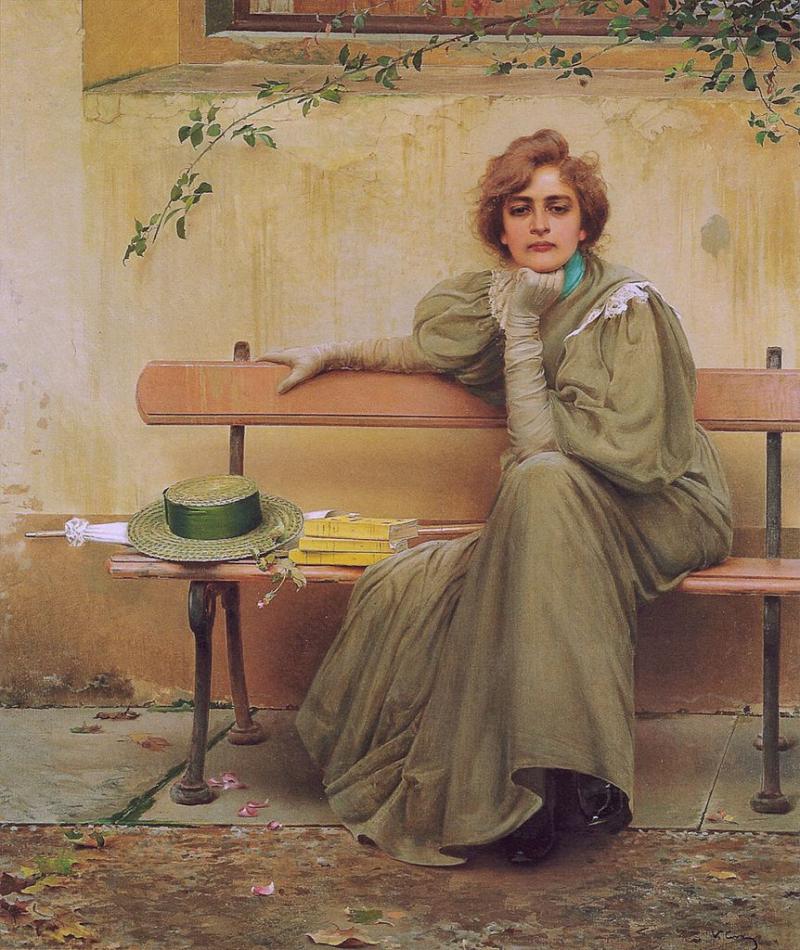 Vittorio_Matteo_Corcos_Dreams_1896