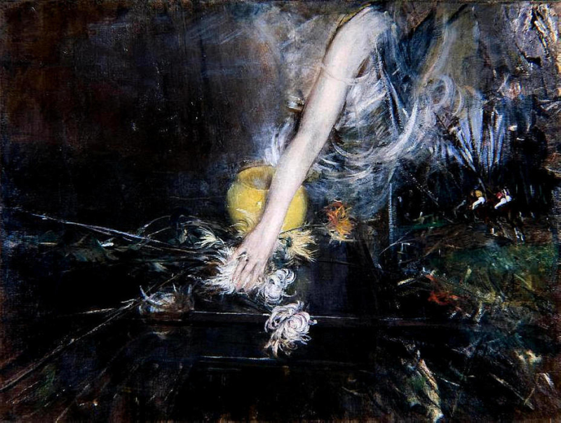 Giovanni-Boldini-Arm-with-Vase-of-Flowers