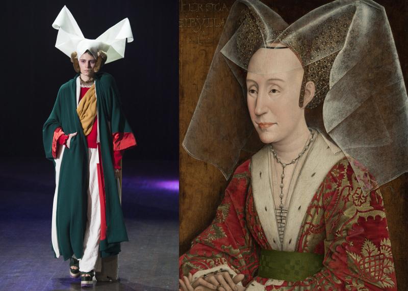 UndercoverAW17_Rogier Van der Weyden  Portrait d'Isabelle du Portugal