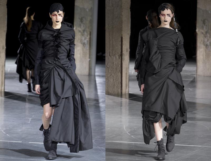 Darkness Illuminated Yohji Yamamoto A W 17 Irenebrination Notes On Architecture Art Fashion Fashion Law Technology