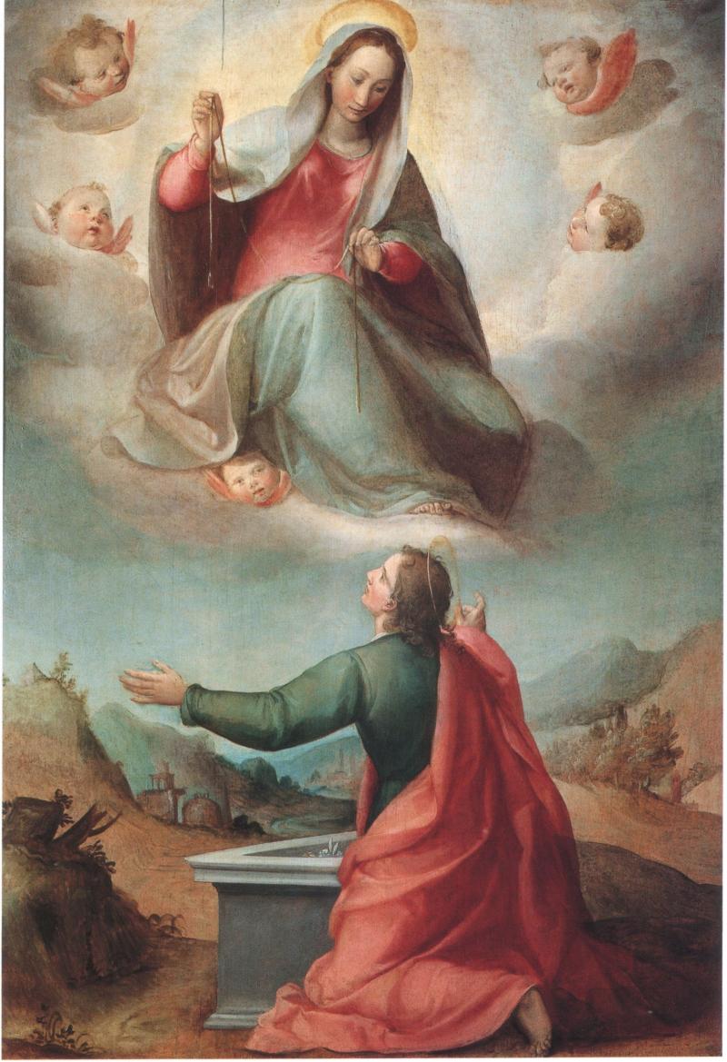 5_Ludovico Buti   Madonna che della Cintola a S.Tommaso  1588-90  Prato  Museo di PalazzoPretorio