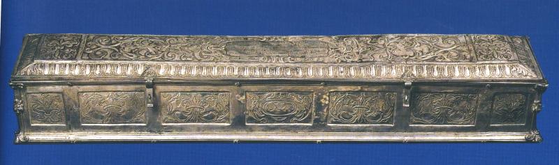8 Bottega di Salvestro Mascagni  Teca in argento  1633  Prato  Museo Opera Duomo