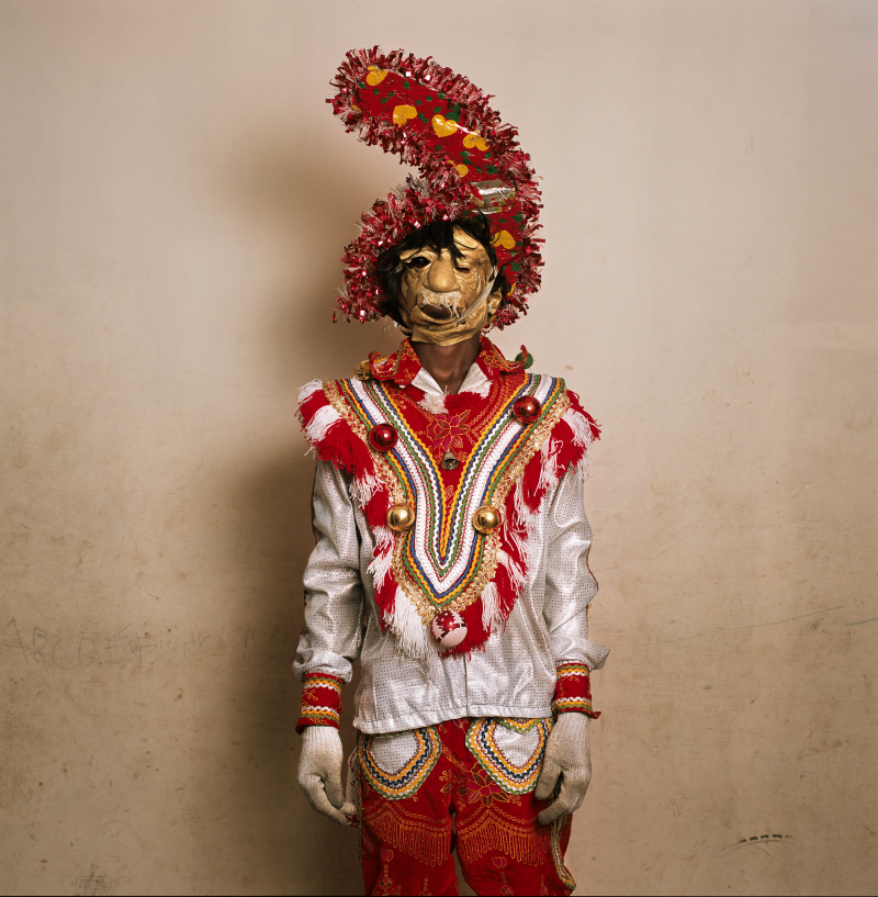 Phyllis Galembo  Fancy Dress with Rubber Mask  Tumis Masquerade Group  Winneba Ghana 2009