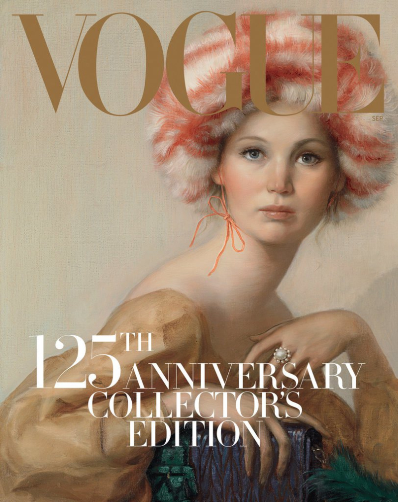 Vogue Cover_John Currin Painting