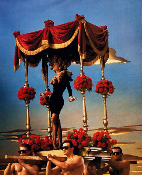 Moschino_campaign19881989_Violetta Sanchez